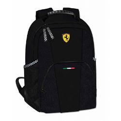 Rucsac Ferrari casual negru 40 cmrucsac marca Ferraridoua compartimenteinchidere cu fermoarculoare&160;Negrucadou perfect&160;