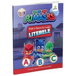 Alfabetul e mai u&537;or de înv&259;&539;at când î&539;i sar în ajutor cei mai simpatici supereroi Bufni&539;a &536;opi &537;i Pisoi O carte educativ&259; de colorat în care apar personajele serialului animatEroi în Pijama
