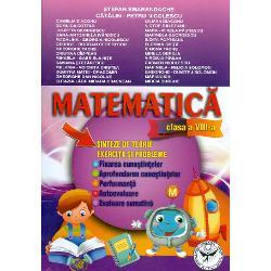 Matematica Sinteze de teorie exercitii si probleme clasa VIII a