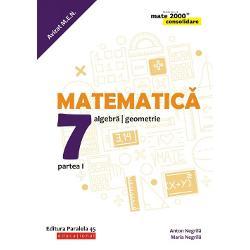 Avizat MEN&160;Seria de lucr&259;ri&160;MATE 2000 CONSOLIDARE destinat&259;&160;claselor de gimnaziu respect&259;&160;toate cerin&539;ele programei &537;colare actuale de matematic&259;&160;referitoare la&160;competen&539;e generale competen&539;e specifice &537;i con&539;inuturi oferind&160;sugestii metodologice&160;dintre cele mai atractiveAstfel pentru fiecare capitol din program&259;&160;sunt