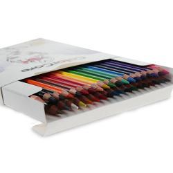 Creioane colorateSet 36 culoriDiametru grif 40mmSetul mai este completat cu creion grafit cu duritatea HB si diametrul 22mm Nu sunt recomandate copiilorcu virsta sub 3 ani