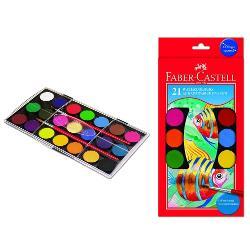 acuarele de inalta calitate intr-o cutie de plastic practica• putere mare de acoperire• culori luminoase si vibrante• paleta bogata de culori• pensula inclusa