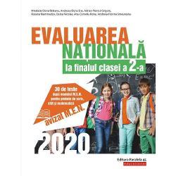 Avizat MEN&160;Lucrarea de fa&355;&259; se adreseaz&259; elevilor de clasa a 2-a &238;n vederea sus&355;inerii cu succes a probei de evaluare a competen&355;elor generale &351;i specifice la finalul anului &351;colar Proba const&259; &238;n administrarea a trei teste viz&226;nd evaluarea competen&355;elor de receptare a mesajelor citite evaluarea competen&355;elor de producere a mesajelor scrise &351;i evaluarea competen&355;elor de matematic&259;