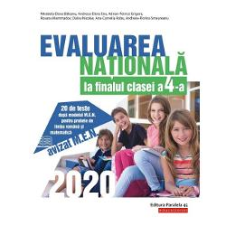 Avizat MENLucrarea de fa&355;&259; se adreseaz&259; elevilor de clasa a 4-a &238;n vederea sus&355;inerii cu succes a probei de evaluare a competen&355;elor generale &351;i specifice la finalul anului &351;colar Proba const&259; &238;n administrarea a dou&259; teste viz&226;nd evaluarea competen&355;elor de &238;n&355;elegere a textului scris &238;n limba rom&226;n&259; &351;i evaluarea competen&355;elor de matematic&259; Testele propuse respect&259;