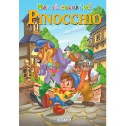 Hai sa coloram Pinocchio