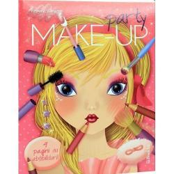 Party make-up Carte de colorat cu abtibilduri