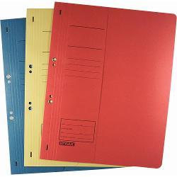 Dosar din carton de incopciat cu capse 12 -realizate din carton de înalt&259; calitate Manilacarton 250g  qm-potrivit pentru format A4 -perfora&539;ie 800 mm perfora&539;ie cu capse metalice