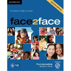 face2face is the flexible easy-to-teach General English course that helps adults and young adults to speak and listen with confidence face2face is informed by Cambridge English Corpus and its vocabulary syllabus has been mapped to the English Vocabulary Profile meaning students learn the language they really need at each CEFR level The course improves students listening skills by drawing their attention to the elements of spoken English that are difficult to understand The free DVD-ROM