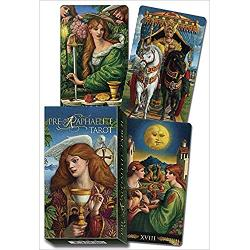 The vivid colors and medieval imagery of the Pre-Raphaelite movement makes for a tarot deck that is rich with a sense of mystery and romance Luigi Costa illustrator of the Mystical Tarot Deck 9780738753782 has created a work of unsurpassed beauty and deep spiritual power This deck based on the traditional Rider-Waite-Smith cards is at once cryptic and insightful the perfect combination of qualities for readers and collectors alikeThe