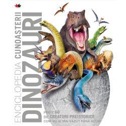 C&258;L&258;TORIE în timp în Mezozoic când dinozauri fioro&537;i cutreierau uscatul pterozauri amenin&355;&259;tori patrulau cerul &537;i m&259;rile erau pline de reptile uimitoareVEZI fiecare animal preistoric în detalii inedite &537;i de un realism fascinant pe baza celor mai noi cercet&259;ri despre dinozauriAFL&258; cum tr&259;iau aceste creaturi fascinante si ce ne spun despre ele fosilele descoperite
