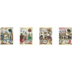 Carnet de notite cu coperta carton moale- Format A5 foaie matematica- Nr De foi - 80 foi- Densitatea - 70 gm2ambalare 4 feluri de coperti
