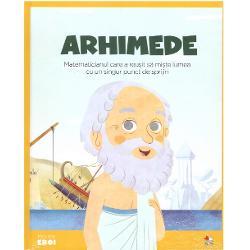Matematic&259; geometrie fizic&259;&8230; Arhimede este unul dintre cei mai mari savan&539;i din istorie Specialitatea lui &206;&537;i verifica teoriile prin experimente C&259;uta mijloace de a m&259;sura cu precizie cercurile sferele cilindrii; &238;ncerca s&259; calculeze num&259;rul boabelor de nisip din univers; studia reflexia luminii &537;i p&226;rghiileArhimede a fost &537;i un inventator extraordinar Lui i se datoreaz&259; roata din&539;at&259; &537;i