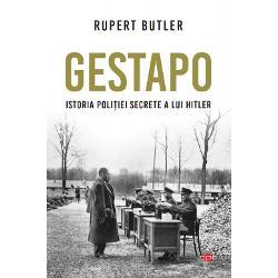 De la crearea sa &238;n 1933 &537;i p&226;n&259; la moartea lui Hitler din 1945 Gestapo Geheime Staatspolizei poli&539;ia secret&259; a celui de-al Treilea Reich a terorizat sute de mii de oameni din teritoriile ocupate de nazi&537;ti Securitatea intern&259; a Reichului era men&539;inut&259; de un aparat poli&539;ienesc tentacular pentru care lucrau &238;n jur de 20 000 de oameni sub conducerea malefic&259; a lui Heinrich Himmler birocratul cu ochelari rotunzi &537;i