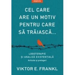 """""""Cel care are un motiv pentru care s&259; tr&259;iasc&259; poate îndura aproape orice"""" – cu acest motto Viktor Frankl a studiat cum chiar &537;i în fa&539;a celor mai crunte lovituri ale vie&539;ii sensul este posibil &537;i cum le permite oamenilor s&259; r&259;mân&259; s&259;n&259;to&537;i mental în vremuri de criz&259; S&259; spui da vie&539;ii s&259; supravie&539;uie&537;ti greut&259;&539;ilor fricii &537;i durerii"""