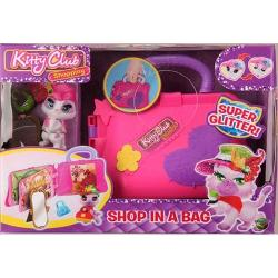 Figurina de catifea Kitty Club shop in a bag 162004