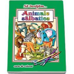 Sa invatam Animale salbaticeIlustrator  Dana PopescuNumar pagini  16Editura  Roxel CartFormat finit  A4 210  295span stylecolor