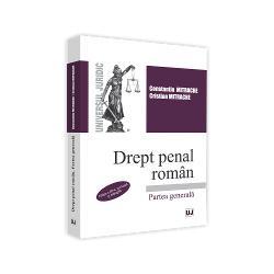 Cursul deDrept penal roman – Partea generala edi&539;ia a III-a revazuta &537;i adaugita elaborat potrivit Codului penal roman in vigoare este destinat studen&539;ilor din anul 2 de studii de la Facultatea de DreptDispozi&539;iile Codului penal au fost examinate &537;i sistematizate pe institu&539;iile fundamentale ale dreptului penal infrac&539;iunea sanc&539;iunile de drept penal &537;i raspunderea penalaInstitu&539;iile