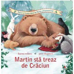 Prietenii lui Martin sunt hot&259;r&226;&539;i ca anul acesta s&259; nu-l mai lase pe somnorosul urs s&259; &238;nt&226;mpine Cr&259;ciunul dormind O aventur&259; minunat&259; de citit &238;n Ajun pentru &238;ntreaga familie&8222;O poveste antrenant&259; despre prietenie &537;i perseveren&355;&259;&160;potrivit&259; pentru vacan&355;a de iarn&259;&8220;&160;School Library Journal