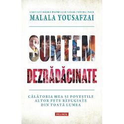PremiulNobel pentru PaceTraducere din limba englez&259;de Bianca AlecuCî&537;tig&259;toarea Premiului Nobel pentru Pace &537;i autoarea de bestselleruri Malala Yousafzai le aduce în fa&355;a noastr&259; pe cîteva dintre persoanele aflate în spatele statisticilor &537;i &537;tirilor zilnice despre milioanele de oameni din întreaga lume ce sînt for&355;a&355;i s&259;-&537;i p&259;r&259;seasc&259;