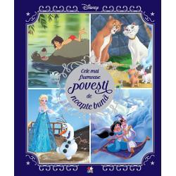 &536;apte dintre cele mai frumoasepove&537;ti Disney cu eroii prefera&539;i &537;i ilustra&539;ii captivante a&537;teapt&259; s&259;fie descoperite în aceast&259; carte minunat&259;Regatul de ghea&539;&259;Pisicile aristrocrateDumboCenu&537;&259;reasaPinocchioCartea junglei