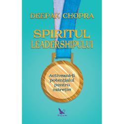 Leadershipul e cea mai important&259; alegere din via&539;&259;e decizia de a ie&537;i din întuneric la lumin&259;Deepak Chopra te invit&259; s&259; ajungi genul de lider atât de necesar în ziua de azi acela care are o viziune &537;i care o poate face s&259; devin&259; realitateCalea conturat&259; de Chopra înSpiritul leadershipuluise