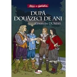 Dup&259; dou&259;zeci de ani continuarea romanuluiCei trei muschetari prezint&259; evenimentele care au loc în timpul domniei regelui Ludovic al XIV-lea De&537;i au trecut dou&259;zeci de ani de la triumful muschetarilor asupra cardinalului Richelieu &537;i Milady de Winter cei patru eroi &537;i prieteni separa&539;i acum de ideile lor politice reu&537;esc s&259; lupte din nou împotriva du&537;manilor regelui Fran&539;ei