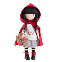 Papusa Gorjuss 32 cm Little Red Riding Hood PR04917