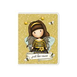 Agenda speciala Gorjuss Bee LovedCaracteristiciDimensiuni&160;10 x 8 x 05 cmPersonaj Gorjuss Bee Lovedcontine 120 foi liniate dictando