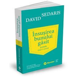 De aproape patru decenii David Sedaris &539;ine un jurnal în care scrie regulat despre lucrurile bizare sau amuzante pe care le observ&259; Orice persoan&259; care a participat la un eveniment cu David Sedaris &537;tie c&259; printre cele mai simpatice p&259;r&539;i sunt momentele în care cite&537;te din propriile jurnaleÎnsu&537;irea bunului g&259;sitcon&539;ine însemn&259;rile sale preferate Îl