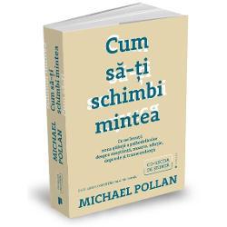 Când &537;i-a propus s&259; cerceteze modul în care sunt utilizate LSD-ul &537;i psilocibina ingredientul activ din ciupercile magice pentru a aduce alinare oamenilor care sufer&259; de afec&539;iuni dificil de tratat precum depresia adic&539;ia &537;i anxietatea Michael Pollan nu a inten&539;ionat s&259; scrie aceast&259; carte f&259;r&259; îndoial&259; cea mai personal&259; dintre toate volumele sale Dar descoperind modul în care aceste