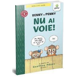 """Benny &537;i sora lui Penny &537;tiu c&259; nu e voie s&259; te furi&537;ezi în curtea altcuiva dar noul lor vecin misterios – sau poate o fi monstru – s-ar putea s&259; fie un ho&539; Se duc s&259; se uite pe furi&537; &537;i descoper&259; multe despre ei &537;i despre noul lor prieten&536;oriceii dr&259;g&259;la&537;i ai lui Geoffrey Hayes pun în discu&539;ie subiecte """"mari"""" în aceast&259; teribil de"""