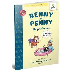 Benny vrea s&259; fie un pirat curajos dar îi vine greu s&259;-&537;i intre în rol când sora lui mic&259; &537;i enervant&259; Penny se &539;ine scai de el El încearc&259; s&259; scape de ea dar când reu&537;e&537;te începe s&259; se simt&259; pu&539;in singurGeoffrey Hayes a fost un artist american autorul a peste 50 de benzi desenate A primit premiul Geisel pentru cea mai bun&259; carte pentru cititori