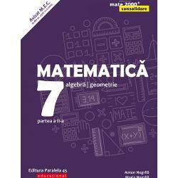 Avizat MEC conform OM nr 531821112019Seria de lucr&259;ri MATE 2000 CONSOLIDARE destinat&259;&160;claselor de gimnaziu respect&259;&160;toate cerin&539;ele programei &537;colare actuale de matematic&259;&160;referitoare la competen&539;e generale competen&539;e specifice &537;i con&539;inuturi oferind sugestii metodologice dintre cele mai atractiveAstfel pentru fiecare capitol din program&259;&160;sunt
