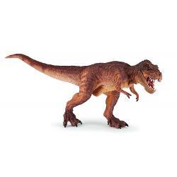 Papo-Dinozaur Brown running T-rex P55075