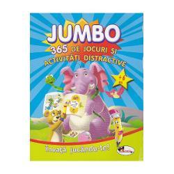Cate o activitate interesanta si distractiva pentru fiecare ziJoaca-te si invata alaturi de Jumbo