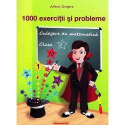 1000 de exercitii si probleme clasa I