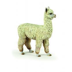 Figurina &160;Papo &8211; Alpaca este o jucarie educativa pentru copiiDimensiuneLxh 8x8 cmRecomandat 3 ani