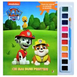 Dezv&259;luie-le tuturor talentul de artist &537;i picteaz&259; cât mai frumos aceste personaje simpaticeFolose&537;te pensula &537;i un strop de fantezie pentru a da culoare întâmpl&259;rilor din aceast&259; carte