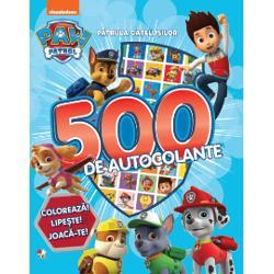 Vino al&259;turi de Ryder &537;i de Patrula C&259;&539;elu&537;ilor Intr&259; în ac&539;iune Vei g&259;si în carte 500 de autocolante desene de colorat jocuri logice &537;i labirinturi Distrac&539;ie pl&259;cut&259;
