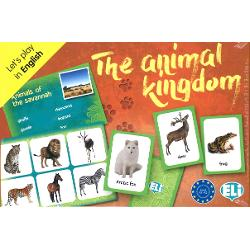 Level A1-A2The animal kingdom is a card game in which players have to recognise name and collect the most number of animals divided into categories Photographic playing cards and bingo grids are used in the bingo game and for other group games encouraging learning revision and the correct use of basic English vocabulary and language structuresThe box contains• 66 playing cards;• 36 lists with the bingo cards on the reverse side;• a