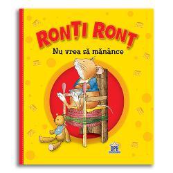 Ron&539;i Ron&539; este un mânc&259;cios dar în seara aceasta nu vrea s&259;-&537;i m&259;nânce nici m&259;car supa delicioas&259; de morcovi Ron&539;i Ron&539; face mofturi la fel ca al&539;i copii Dar mama lui &537;tie ce are de f&259;cut Îi arat&259; de ce nu este bine s&259; fie capricios iar acesta redevine un &537;oricel cuminte &537;i ascult&259;tor Cum face asta  Specifica&539;ii