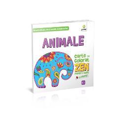 Aceasta carte folose&351;te animalele stilizate &351;i simetria liniilor pentru a provoca imagina&355;ia copiilor &351;i a le stimula creativitatea &351;i sim&355;ul cromatic  C&259;r&355;ile de colorat ZEN pentru copii se diferen&355;iaz&259; de cele obi&351;nuite prin simetriile liinilor &351;i bog&259;&355;ia detaliilor