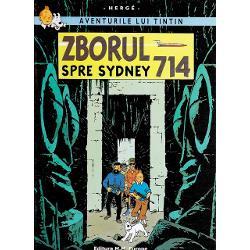 Zborul 714 spre Sydney este singurul volum &238;n nara&355;iunea c&259;ruia intervin extratere&351;trii &206;n aceast&259; nou&259; aventur&259; principalii protagoni&351;ti ai seriei Tintin c&259;pitanul Haddock &351;i profesorul Turnesol sunt &238;n drum spre Sydney  unde au fost invita&355;i s&259; participe la Congresul de Astronautic&259; ca invita&355;i de onoare Doar fuseser&259; primii p&259;m&226;nteni care debarcaser&259; pe Lun&259; nu-i a&351;a