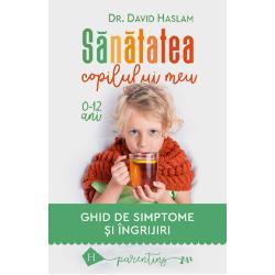 Un ghid practic unic în felul s&259;u pentru c&259; porne&537;te de lasimptome nu de la diagnostic cum fac de regul&259; ghidurile pediatrice pentru p&259;rin&539;i Iar p&259;rin&539;ii se confrunt&259; în primul rând cu simptome copilul are febr&259; copilul tu&537;e&537;te copilul nu aude bine pe copil îl dor din&539;ii copilului i-a ap&259;rut o erup&539;ie pe piele copilul are diaree sau consti-pa&539;ie etc etc Despre ce