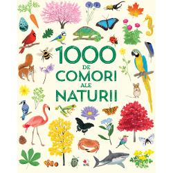 &206;n aceast&259; carte minunat ilustrat&259; vei descoperi1000 de lucruri din natur&259; de la plante&537;i insecte familiare la exotica pas&259;re aparadisului &537;i fascinante creaturi acvatice&537;i vei afla cum arat&259; via&539;a &238;n diferite habitate
