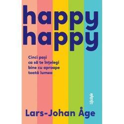 Cum poti sa ajungi mai usor la un acord cu ceilalti astfel incat toata lumea sa fie multumitaIn cartea de fata expertul negociator Lars-Johan Åge ne prezinta Happy-Happy o metoda unica si eficienta in cinci pasi prin care putem obtine un raspuns favorabil la ideile si opiniile noastre Astfel putem ajunge la intelegere cu aproape oricine – la locul de munca si in situatii private – intr-o maniera care sa fie satisfacatoare pentru toti cei implicati Spre