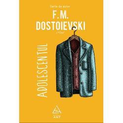Naratorul &351;i protagonistul romanului dostoievskianAdolescentuleste Arkadi Makarovici Dolgoruki un tân&259;r naiv &351;i ambi&355;ios de numai 19 ani Fiu nelegitim al latifundiarului Andrei Petrovici Versilov acesta oscileaz&259; permanent între pornirea de a scoate la lumin&259; gre&351;elile tat&259;lui ajuns la ruin&259; &351;i dorin&355;a ascuns&259; de a-i câ&351;tiga dragostea Astfel se hot&259;r&259;&351;te s&259; accepte