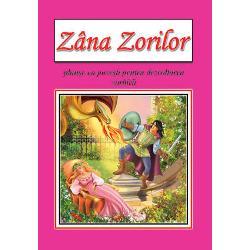 Zana Zorilor - planseAutor  Ioan SlaviciIlustrator  Dana PopescuContine  8 planse colorcarton duplex 230 grmp cu spate albFormat finit A4Editura  Roxel Cart
