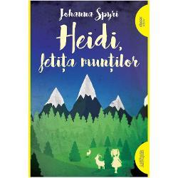 Heidi este o feti&355;&259; r&259;mas&259; în grija bunicului un b&259;trân care tr&259;ie&351;te în mun&355;i departe de oameni Are un suflet mare &351;i îi sunt dragi atât ciob&259;na&351;ul Peter &537;i caprele lui cât &537;i bunicul cel ursuzAjuns&259; la familia Sesemann din Frankfurt Heidi cu firea ei zburdalinic&259; nu rezist&259; prea mult în peisajul sterp de la ora&537; &537;i se întoarce
