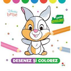 Aceast&259; carte de colorat cu autocolante îl va ajuta pe cel mic s&259;-&537;i dezvolte în primul rând abilit&259;&539;ile motriceIat&259; ce va g&259;si în&259;untru• imagini pe jum&259;tate colorate care îi vor indica ce culori s&259; foloseasc&259; pentru a le completa• autocolante pline de culoare cu eroii Disney prefera&539;i• activit&259;&539;i care îi vor stimula imagina&539;ia